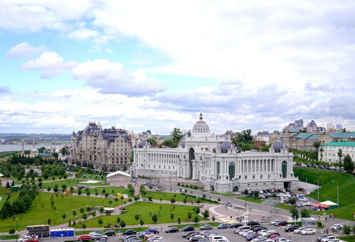 Kazan von oben