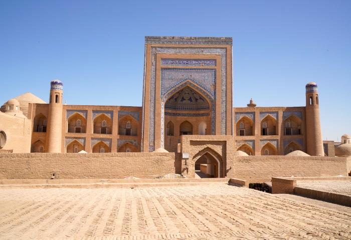 Medrese Muhammad Rachim Khan in Chiwa, Usbekistan