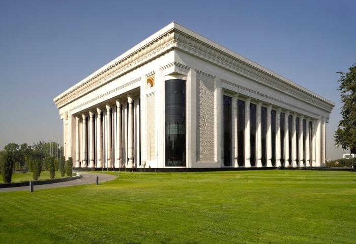 Kongresshalle in Taschkent, Usbekistan